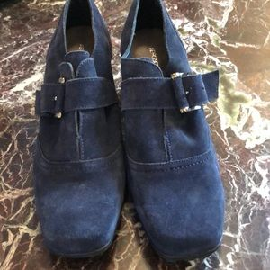 Aerosol suede blue comfortable shoes with Style